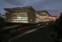 Archviz - Airports / Architectural Visualization - Airports
