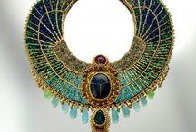 Egyptian jewellery / Art inspiration