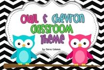 Chevron Owl Classroom / by Jessica Williams
