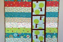 Giggle & Grow / Fabric collection designed by Katie Hennagir.