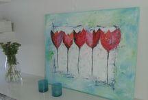 schilderen Jacqueline