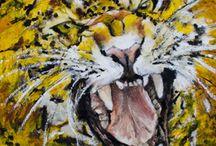 Pittura a olio wildlife / Quadri realizzati a pittura a olio