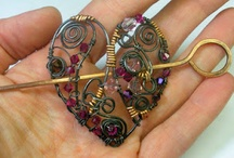 Wearable Art / A collection of jewelry sculptures and wearable art. / by Terry Pugh