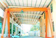 Ellsen modular design indoor gantry crane for sale