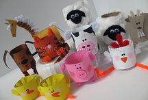 Kids' Crafts / Easy-to-make crafts for young children so they can feel pride in their creations.