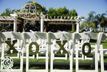 Ceremony Setting / Outdoor wedding venue at Villa de Amore in Temecula CA.  / by Villa de Amore California Weddings