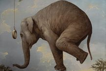elephumps / Artwork of and featuring the serene elephant