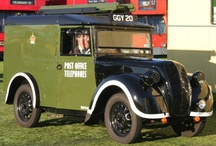 Postal Vehicles / Vehicles used by Royal Mail, the Post Office, the General Post Office, Post Office Telephones, etc.