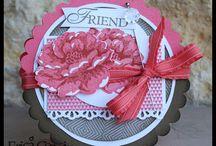 Handmade Cards- SU- Stippled Blossoms
