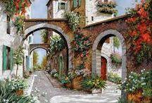 Guido Borelli festmények