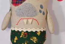 bubaki / Potworki, zabawka, przytulanka, poduszka, stworek, prezent,