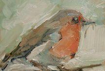 Painting - Birds