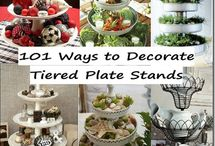 Tiered stands