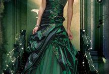 衣裳 - green dress