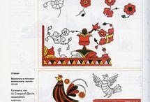 Роспись пермогорская