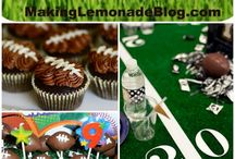 Game Day Recipes / Everything football, Tailgating and Superbowl. Recipes, Ideas, crafts, and decor.