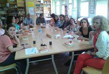 CLUB DE LECTURA IES AL-QÁZERES / Imágenes de las sesiones del Club de Lectura de nuestro centro y de los libros que hemos comentado en cada sesión.