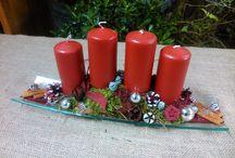 Christmas decoration,Karácsonyí dísztárgyak / Száraz virágból és más természetes anyagból készített díszek,dísztárgyak
