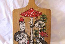 Vintage Mushroom Love  / by Susan Fulmer