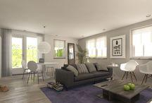 3D Visuals / 3D Impressies voor interieur en exterieur, vogelvluchten, foto-montages, produktpresentatie en animaties.