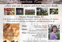 Colonial American Historical Romance Novel Traitor's Legacy / Colonial America and the American Revolution