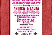 Anniversary party / by Jessica Hamilton