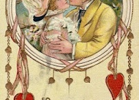 Vintage / Victorian art, cards and paper