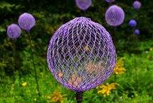 Chicken Wire Garden Art