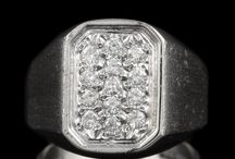 Men's Fine Jewelry / by The Castle Jewelry Discounters of Diamonds and Fine Jewelry