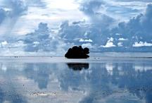 En la luz / Mis visiones de un cielo maravilloso en Palau.