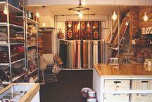 Shop Fitting / We've supplied The Hackney Draper with interclamp fixings and fittings to kit out their shop in London - doesn't it look great!
