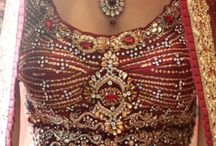 Red Indian Bridal Outfits
