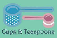 Cups & Teaspoons / All kind of recipes