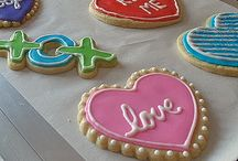 Decorated Cookie Love