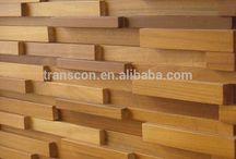 pared en madera