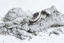 CONCRETE RING jewelry (by Tomas Vacek) / Designed for gravelli.com