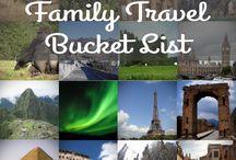 Family Travel Bucket List