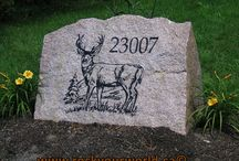 Onsite stone engraving / ONSITE ENGRAVING SERVICE ONTARIO AND PORTABLE ROCK ETCHING STONE CARVING ON SITE. On site engraving is the ability to take portable stone engraving tools & equipment right to the job site and provide a quality stone engraving carved into the stone with crisp clean lines.