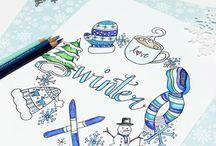 Bullet journal winter