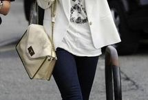How to style: White printed tee / The white printed tee is an item I've already purchased (a lot!) but often have no clue how to style it. This board is a collection of white printed tee's combined with various outfits.