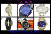 WATCH WEDNESDAY Tonight April 16 at 10 PM ET at OneCentChic / Both Women and Men's watches up tonight