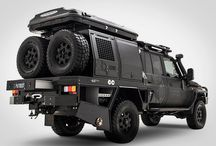 Vehicles - Land Cruiser UTE/Adventure Camper