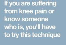 Technic for knee pain