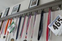 expor medalhas