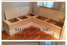 muebles madera varios