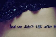 Mooie tatoeages.