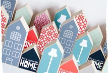 Tiny houses - casette - huisjes / small decorative houses
