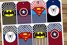 Superhero Party Inspiration / Ideas for a 4-year-old's superhero birthday party