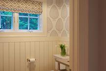 bathroom redo  / by Leslie Brown