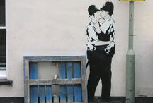 Unsanctioned Art / urban art, graffiti, whimsical civilian expression / by Jenny Goldberg